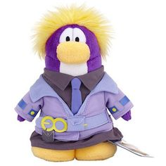 Disney Club Penguin 6.5 Inch Series 10 Plush Figure Dot Includes Coin with Code! *** You can find more details by visiting the image link. (This is an affiliate link) #StuffedAnimalsTeddyBears
