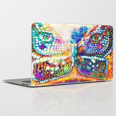 Butterfly Art Laptop & iPad Skin by InDepth Designs - $30.00