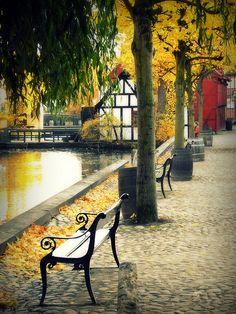 visitheworld:  Den Gamle autumn, Aarhus / Denmark (by Bjørn Giesenbauer).  Autumn in Europe