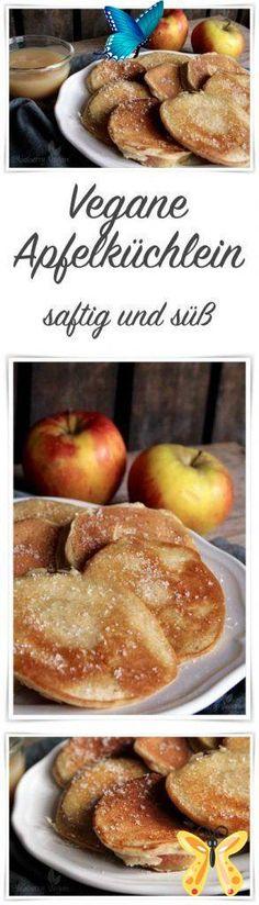 Leckere Apfelküchlein Apfelküchlein<br> [Werbung: Affiliate Links] So ist das nun mal. Wenn man als 1-Personen-Haushalt einen 2-kg-Apfel-Sack kauft, gibt es nicht nur jeden Tag einen Apfel (ihr wisst schon: One Apple a day keeps the doctor away - sicher ist sicher), sondern auch… Coconut Flour Pancakes, Low Carb Pancakes, Low Carb Breakfast, Keto Recipes, Cake Recipes, Dinner Recipes, Dessert Recipes, Banoffee Pie, Healthy Foods To Eat