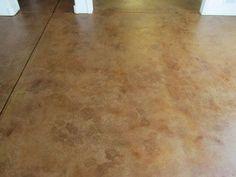 DIY Acid Stain Concrete Floors | Acid Stained Concrete (Staining) Denver Boulder Golden CO