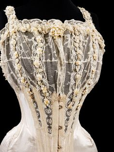 a bridal corset  from 1905...