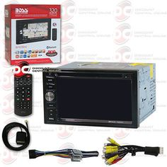 Video In-Dash Units w GPS: Boss Bv9378nv Car Dvd Cd Stereo W 6.5 Touchscreen Lcd, Bluetooth And Navigation -> BUY IT NOW ONLY: $144.99 on eBay!