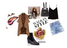 """""""Boots"""" by women-miki ❤ liked on Polyvore featuring Miss Selfridge, Dorothy Perkins, Raey, R13 and WithChic"""