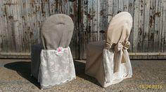 Husse Landhaus grau, natur für das Brautpaar auch ohne Spitze mietbar. Laundry, Bags, Home Decor, Organization, Event Management, Newlyweds, Outdoor Camping, Farmhouse, Lace