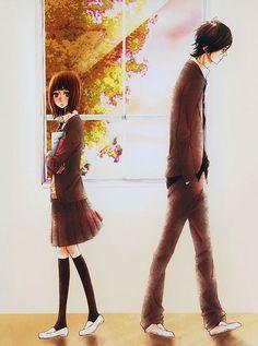 """Mei Tachibana and Yamato Kurosawa - Say """"I Love You""""/Sukitte Ii Na Yo Manga Love, I Love Anime, Me Me Me Anime, Anime Couples, Cute Couples, Yamato Kurosawa, Futaba Y Kou, Dbz, Say I Love You"""