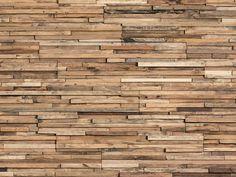 Revestimiento de parede 3D de madeira para interior PARKER by Wonderwall Studios