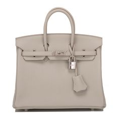 #Hermes #Birkin #Bag Gris Perle Togo Palladium Hardware
