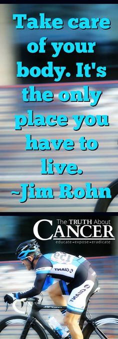 Prevention is KEY! Great quote by John Rohn // The Truth About Cancer