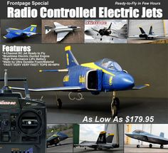 Total BAD ASS Radio Controlled Electronic Jets