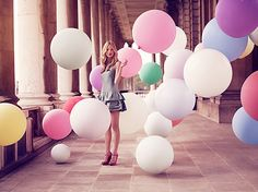balloons will fit on a vespa. not in a car. #ridecolorfully