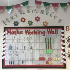 Maths working wall place value partitioning addition concrete pictorial abstract base 10 primary display year 2 Classroom Displays Primary Working Wall, Working Wall Display, Literacy Working Wall, Primary Classroom Displays, Year 2 Classroom, Ks1 Classroom, Teaching Displays, Classroom Walls, Class Displays