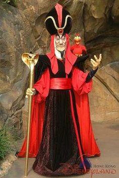 Jafar HKDL Aladdin Halloween, Halloween Fancy Dress, Halloween Costumes For Kids, Halloween Party, Halloween 2014, Halloween Ideas, Jafar Costume, Wizard Costume, Aladdin Costume