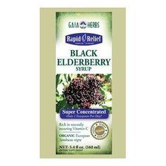 Amazon.com: Gaia Herbs - Black Elderberry Syrup 5.4 oz [Health and Beauty]: Health & Personal Care