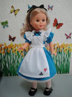 "Dress ""Alice in Wonderland"" Alicia en el pais de las maravillas,"