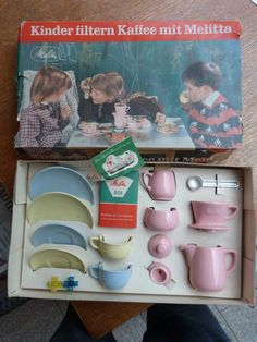 Kinder-filtern-Kaffee-Melitta-801-Kinder-Kaffee-Gedeck-Set-vollstaendig-8020M