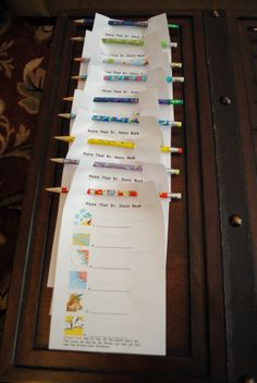 Dr Seuss Baby Shower Game @ Kim F - thought about you :)