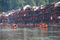 » Una ciudad congelada en el tiempo en China (Fenghuang) 101 Lugares increíbles -