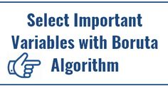This article explains how to select important variables using boruta package in R. Variable Selection is an important step in a predictive ...