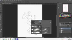 Digital Painting Tutorial: Vampira Parte 1/3