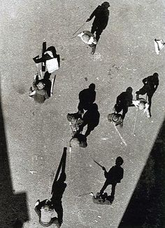 Alexander Rodchenko, Street From Above, 1925 shadows used to produced an alternative image