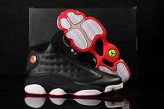 2013 New Nike Air Jordan XIII 13 Mens Shoes Black