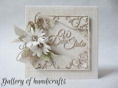 Gallery of handicrafts: W Dniu Ślubu Photo Album Scrapbooking, Scrapbooking Layouts, Card Making Designs, Owl Card, Wedding Cards Handmade, Wedding Anniversary Cards, Love Cards, Homemade Cards, Handicraft