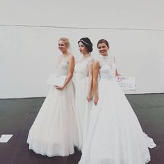 I was honored today to spontaneously walk at the longest bridal catwalk ever at the @interbride in #düsseldorf! �� My first walk and hopefully not the last�� #kleidermachenleute #interbride #convention #bride #weddinggown #vintage #amateur #modelling #athena #honored #wedding #dress http://gelinshop.com/ipost/1524938447171777813/?code=BUpq3AwAnUV