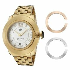 Glam Rock Women's GR32055 SoBe White Dial Gold Ion-Plated Stainless Steel Watch Glam Rock. $724.12. White dial with gold tone hands, hour markers and arabic numeral 12; Luminous; Gold ion-plated stainless steel bezel and crown with black accents. Mineral crystal sapphire coated; Polished gold ion-plated stainless steel case and cover with interchangeable stainless steel and rose gold ion-plated covers; Gold ion-plated stainless steel bracelet. Swiss Quartz movement. D...