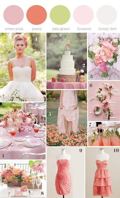 pretty romantic palette and details