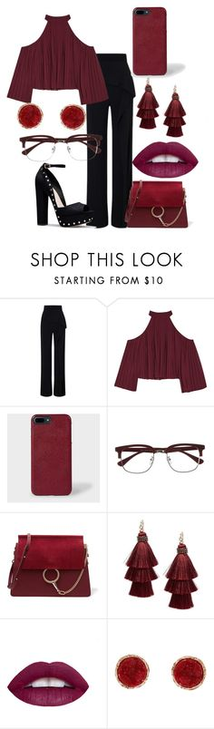 """Untitled #42"" by iulianaenache526 on Polyvore featuring Roland Mouret, W118 by Walter Baker, Paul Smith, EyeBuyDirect.com, Chloé, Design Lab, L.A. Girl and Humble Chic"