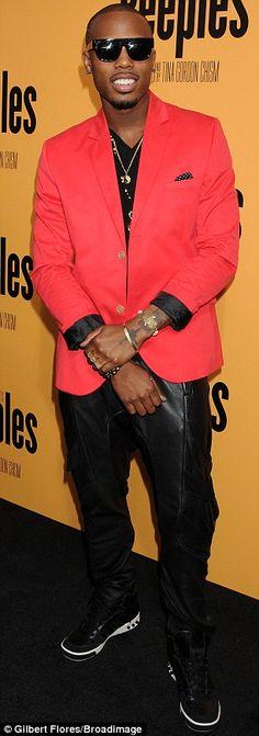 Film fans: Musician B.o.B and professional basketball player Ron Artest aka Metta World Peace