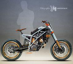 Derestricted KTM 1190 Adeventure by Holographic Hammer