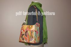 Bucket Bag PDF Tutorial & Pattern by thesterlingowl on Etsy