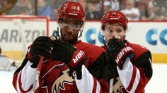 Anthony Duclair and Max Domi - Coyotes