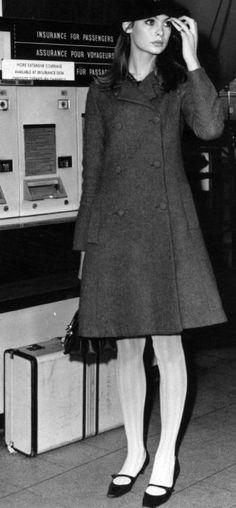 Jean Shrimpton Airport Chic 1960's