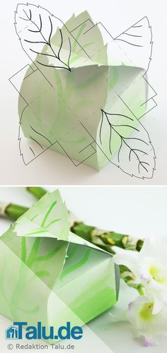 faltschachtel basteln anleitung vorlagen f r kreative schachteln origami box and craft. Black Bedroom Furniture Sets. Home Design Ideas
