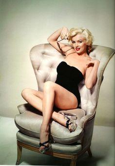 Marilyn Monroe by Nickolas Murray, 1953.