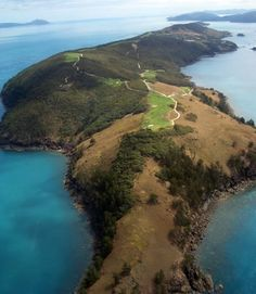 The Hamilton Island Golf Club. So we're guessing an OB shot would require more than just searching the rough? Golf Stuff, Fun Stuff, Hamilton Island, Best Golf Courses, Play Golf, Find Picture, Golf Clubs, Searching, Layouts