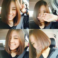 Short Hairstyle, Hairstyle Ideas, Cute Hairstyles, Medium Hair Cuts, Medium Hair Styles, Shoulder Length, Daily Fashion, Hair Inspiration, Haircuts