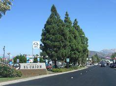 El Cajon California - Historic U.S. Highway 80 East