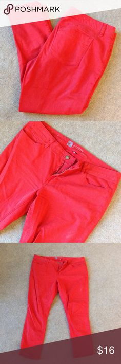 Red skinny jeans 27 inch inseam. Mossimo Supply Co Jeans Skinny