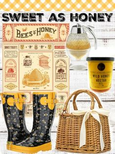 Sweet as honey Farmhouse style goodies! Click here!