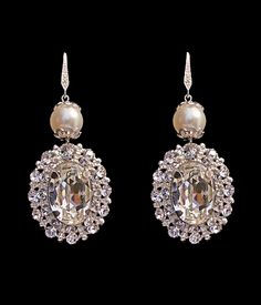 Found on Weddingbee.com Share your inspiration today! Bridal Earrings 91815d370