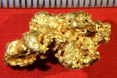Amazing Boulder Style Australian Gold Nugget - Brite and Beautiful: $1874
