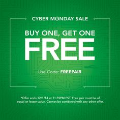 Okabashi Cyber Monday Sale is Here! Buy 1, Get 1 FREE with code FREEPAIR  Offer ends tonight at 11:59PM PST - stock up on shoes while you still can!   #Okabashi #CyberMonday #Sale #Shoes