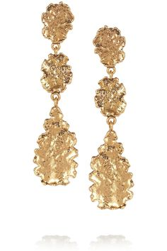 In Love With Oscar De La Renta Jewelry on oscar de la renta leaf necklace