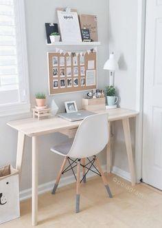 Jeder Schreibtisch braucht eine Pinnwand - Alles was du brauchst um dein Haus in ein Zuhause zu verwandeln | HomeDeco.de