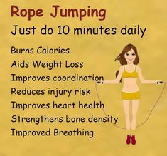 """Beauty Tips's Instagram photo: """"Weight Loss Exercise .  . .Rope jumping for Weight Loss . .follow @beautyscaraa .. . .…"""" Health Tips For Women, Health Advice, Daily Burn, Bone Density, Best Diet Plan, At Home Workouts, Leg Workouts, Lose Weight Naturally, Healthy Lifestyle Tips"""
