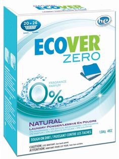 ecover-laundry-powder-zero. Excellent eco-friendly dishwasher detergent in tablet form.